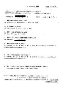 福井市にて不用品の回収のご依頼 お客様の声