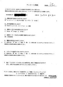 坂井市にて押入れの不用品の回収処分のご依頼 お客様の声