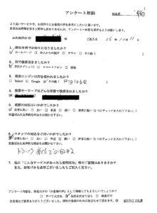 敦賀市にて不用品の回収処分のご依頼 お客様の声