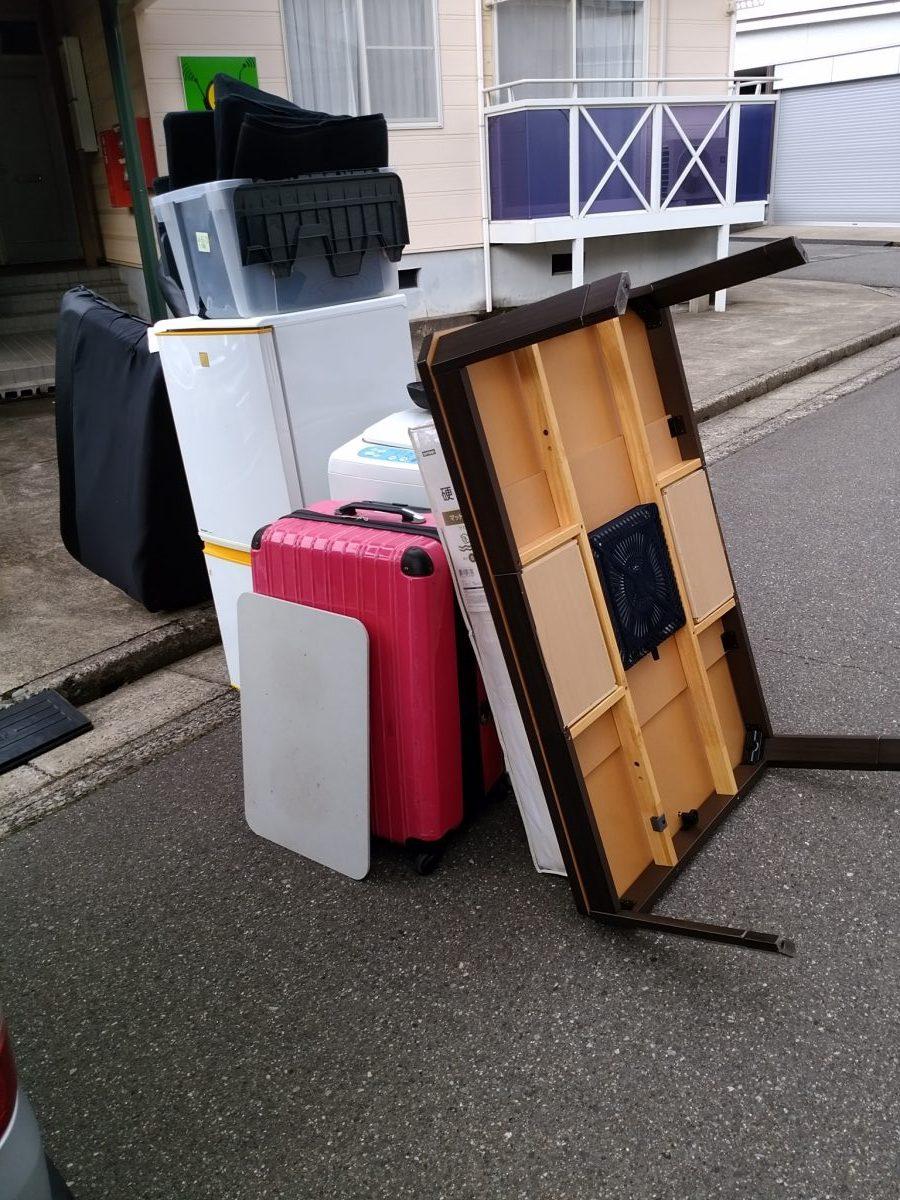 【敦賀市】引っ越しに伴う不用品回収☆電話当日のスピード回収でお喜び頂けました。
