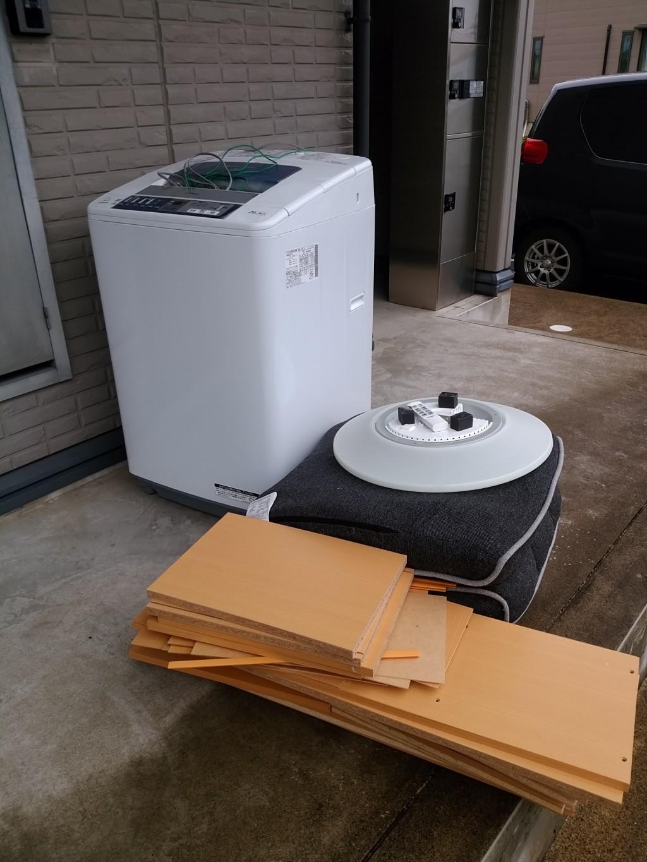 【永平寺町】洗濯機や座椅子の不用品処分・回収のご依頼 お客様の声