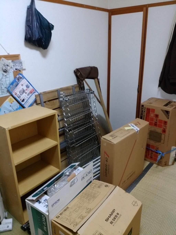 【福井市】引越しで軽トラック1台分の不用品回収ご依頼 お客様の声