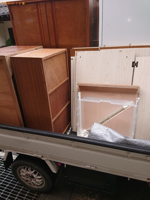 【調布市】遺品整理に伴い冷蔵庫、タンス、テーブルなどの出張不用品回収・処分ご依頼