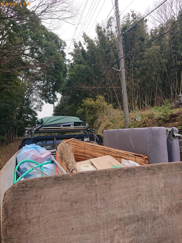 【小浜市】軽トラック1台程度の出張不用品の回収・処分ご依頼