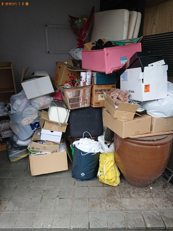 【小浜市】テレビ、整理タンス、ソファー、オモチャ等の回収・処分