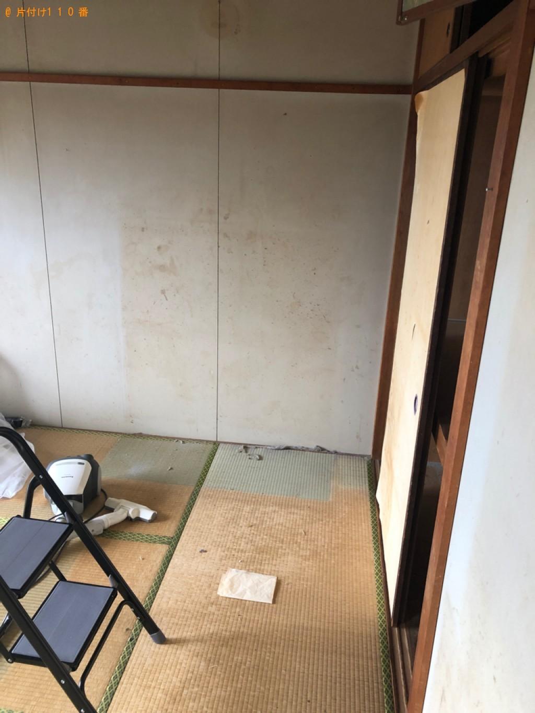 【福井市】タンス、食器棚等の回収・処分ご依頼 お客様の声