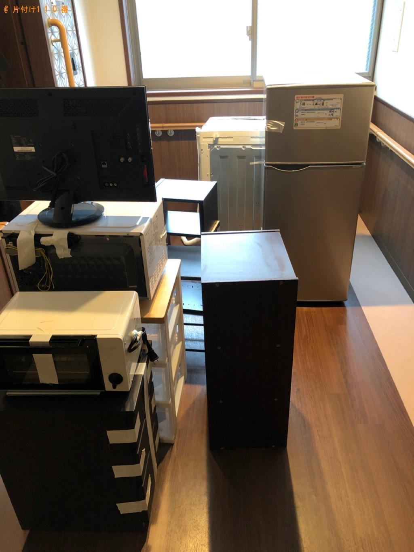 【福井市】冷蔵庫、テレビ、ガラステーブル、洗濯機等の回収・処分