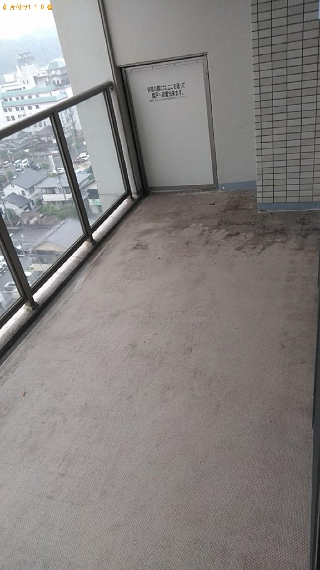 【福井県美浜町】床に敷き詰めるパネル、金属製ラックの回収・処分ご依頼