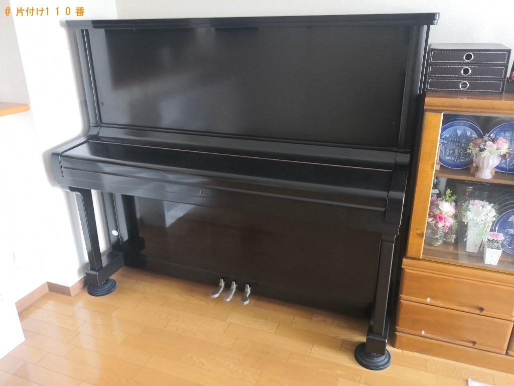 【福井市】ピアノの回収・処分ご依頼 お客様の声