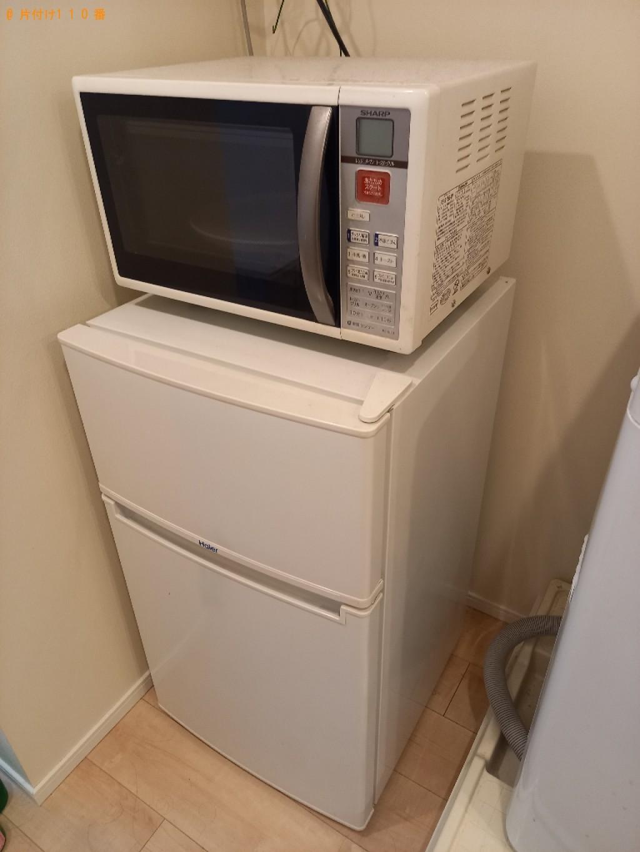 【福井市】冷蔵庫、電子レンジ、洗濯機、シングルベッド等の回収
