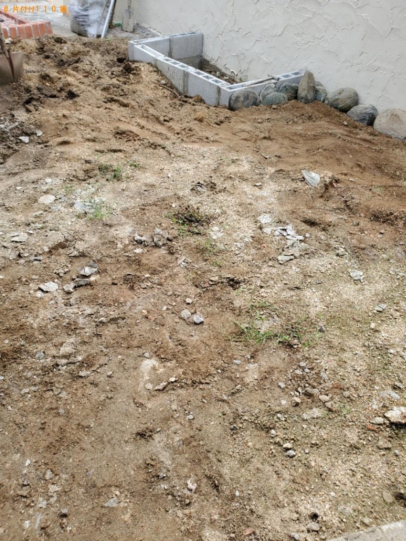 【福井市】庭石の回収・処分ご依頼 お客様の声