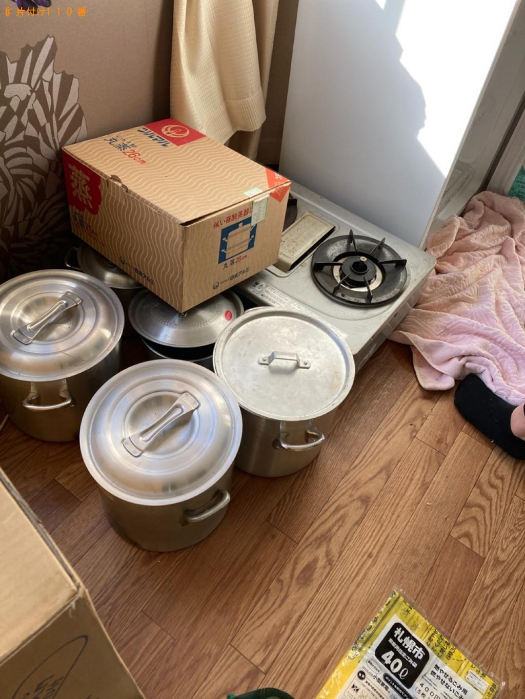 【福井市】業務用机、冷凍庫、棚、ダンボール等の回収・処分ご依頼