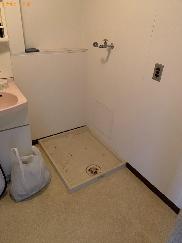 【福井市】遺品整理に伴い洗濯機、冷蔵庫、タンス、下駄箱等の回収・処分ご依頼