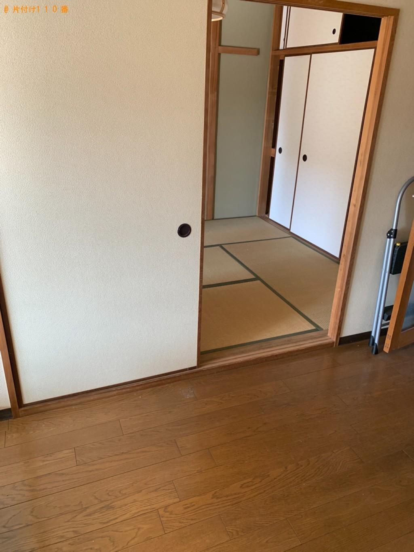【福井市】洗濯機、冷蔵庫、タンス、下駄箱等の回収・処分ご依頼