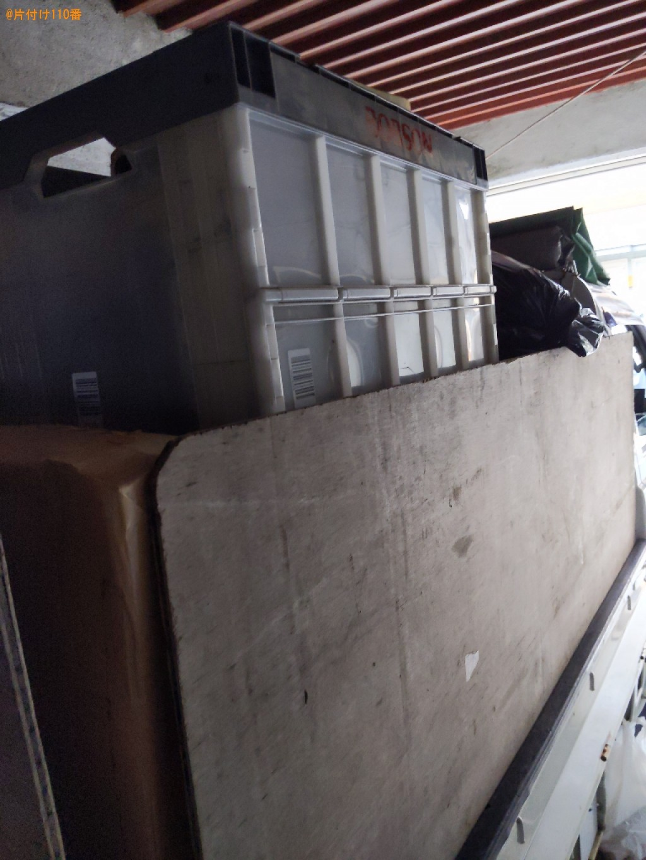 【小浜市】扇風機、かご、布団、テレビ、カラーボックス等の回収