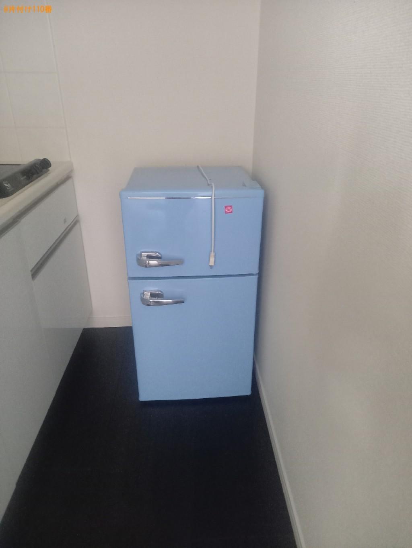 冷蔵庫、布団、ハンガーラック、ゴミ箱等の回収・処分ご依頼