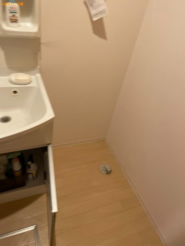 洗濯機、四人用ダイニングテーブル、椅子、テーブル等の回収・処分